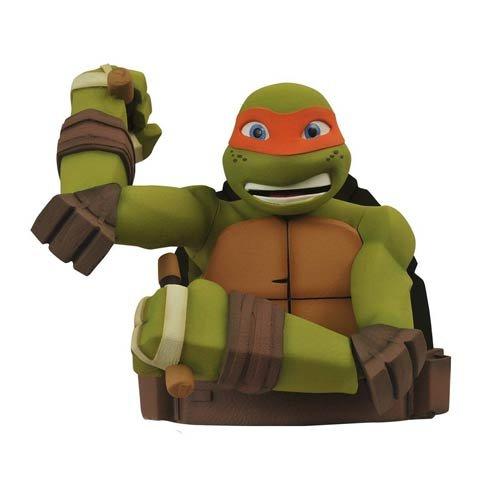Diamond Select Toys Teenage Mutant Ninja Turtles: Michelangelo Bust Bank