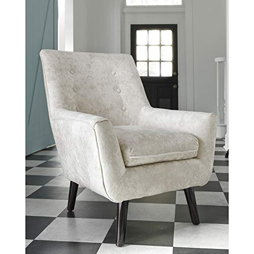 35.63 in. Accent Chair in Ivory