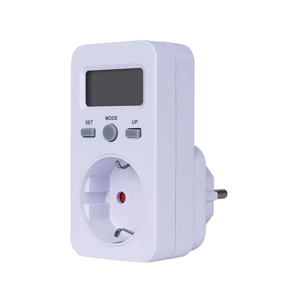 Ben-gi LCD Digital medidor de energía Socket Plug-in Power Detector de Energía Eléctrica de Prueba de medidor KWH W Precio vatímetro: Amazon.es: Hogar