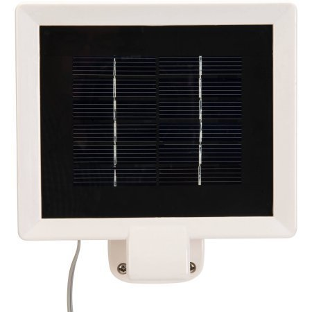 Brinks LED Solar Powered Motion-Activated Security Light, White