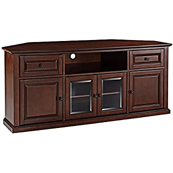 Amazon Com Crosley Furniture 60 Inch Corner Tv Stand