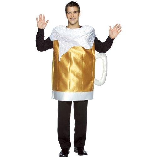 Beer Mug Adult Costume - One (Hollowen Adult Costumes)