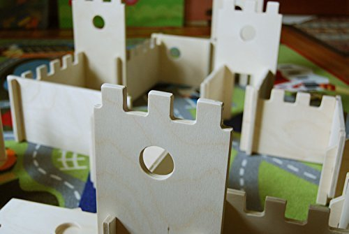 Modular Castle Building Walls Playset