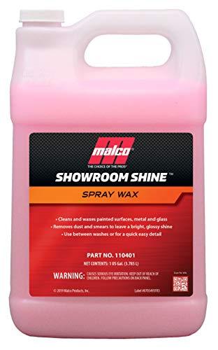 Malco Showroom Shine Spray Wax, 1 gal (110401) (Best Spray Wax For Cars)