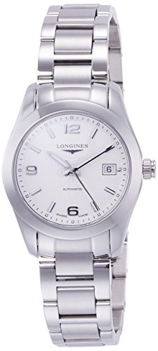 Longines Conquest Classic Automatic Silver Dial Stainless Steel Ladies Watch L22854766