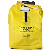 Travel Babeez Durable Car Seat Travel Bag, Airport Gate Check Bag with Easy-t...