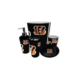 Amazon Com Cincinnati Bengals Nfl Complete Bathroom