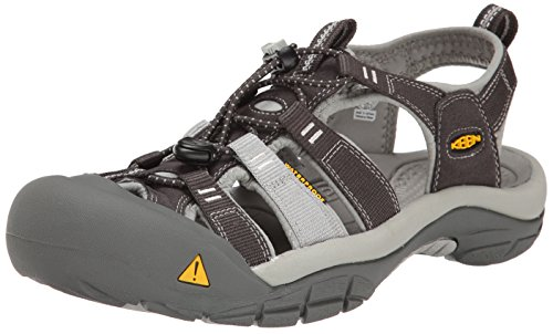 KEEN Women's Newport H2 Sandal, New Raven/Neutral Gray, 5 M US by KEEN