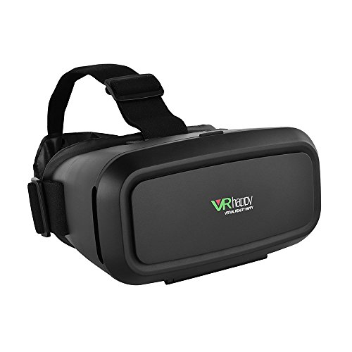 Docooler® VR Happy Virtual Reality Glasses 3D VR Box Glasses Headset Universal for Android iOS Windows Smart Phones with 3.5 to 5.5 Inches