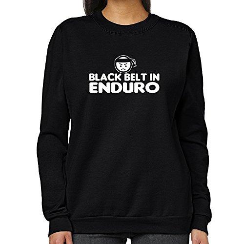 Teeburon BLACK BELT IN Enduro Women Sweatshirt ()