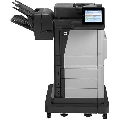 Hewlett-Packard - Hp Laserjet M680z Laser Multifunction Printer - Color - Plain Paper Print - Floor Standing - Copier/Fax/Printer/Scanner - 45 Ppm Mono/45 Ppm Color Print - 45 Cpm Mono/45 Cpm Color Copy - Touchscreen - 3100 Sheets Input - Gigabit Ethernet