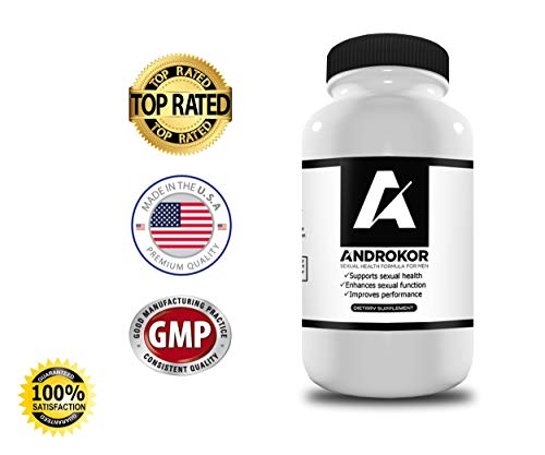 ANDROKOR Maximum Strength Male Enhancement- Increase Libido, Stamina, Size, Performance- 1 Pill Dose- 15 Fast Acting Pills (Pill Enhancement Male Performance)