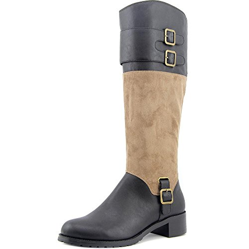 Adriann Vita Taupe Knee Boot Bella II Black High Suede RUwqwOPH