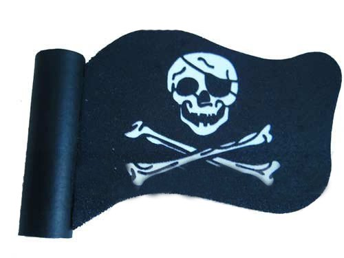[해외]해적 깃발 두개골 Crossbones 자동차 트럭 SUV Antenna Topper/Pirate Flag Skull Crossbones Car Truck SUV Antenna Topper