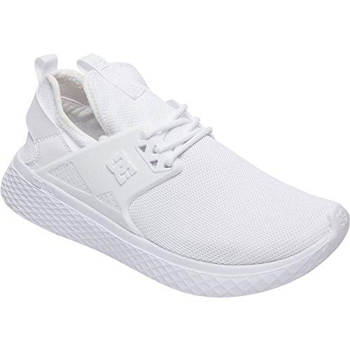 DC Womens Meridian Skate Shoe White QELFhMpm2p