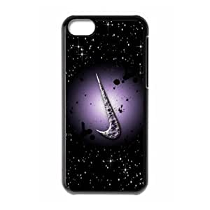 Hard Plastic Cover Case NIKE logo Just Do It iPhone 5C Case Kimberly Kurzendoerfer