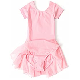 - 41qMahf3ZtL - Apexsolaire Girls' Skirted Ballet and Tap Leotard