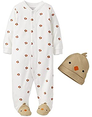 Just One You Made By Carter's Baby Boys' Infant 2 Piece Sleep and Play