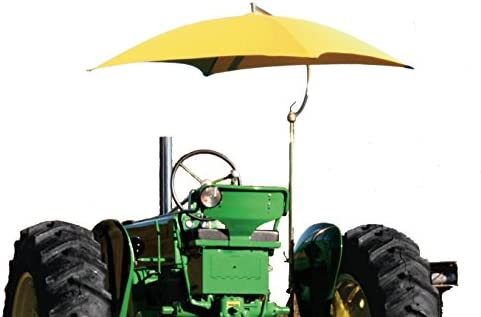 International Resources Tractor Sun Shade Umbrella Multi Color Orange
