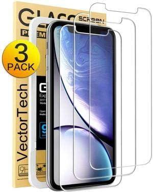 Protector de pantalla para Apple iPhone XR y iPhone 11(3Un)