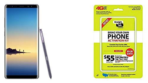 Straight talk Orchid Gray 64GB Samsung Galaxy Note 8 Verizon (Renewed)