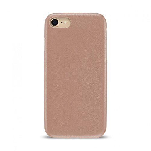 - Artwizz Leather Clip for iPhone 8 & iPhone 7 - Ultra-Slim, Handmade Leather Case with 1.5mm Thickness - Designed in Berlin - Nude