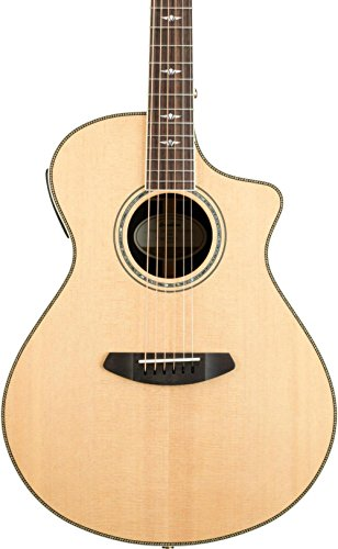 Acoustic Electric Guitar Natural Gloss - Breedlove Stage Exotic Concert CE Sitka Spruce - Ziricote Acoustic-Electric Guitar Gloss Natural