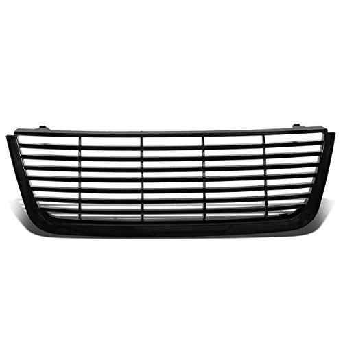 For Ford Expedition U222 Glossy Black ABS Billet Style Front Bumper Grill