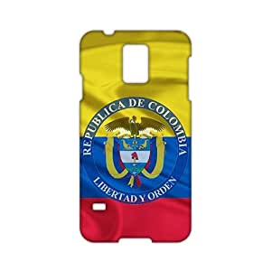 Angl 3D Case Cover bandera de colombia 3d Phone Case for Samsung Galaxy s 5