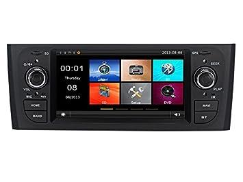 Radio navegador con GPS, USB, SD, Bluetooth, para Fiat Grande o Punto