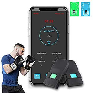 Well-Being-Matters 41qMcb5y7JL._SS300_ Boxing Punch Tracking Wearable Sensors Boxing Equipment Tracker Smart Punch Tracker Highly Sensitive Sensor for Boxing…