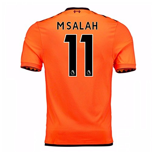7032810b56b 2017-18 Liverpool Third Football Soccer T-Shirt Jersey (Mohammad Salah 11)  - Buy Online in UAE.