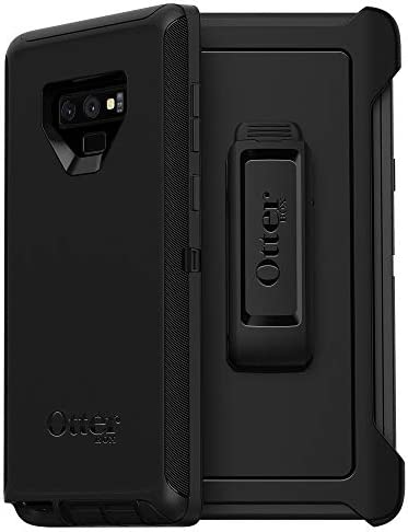 OtterBox DEFENDER SERIES SCREENLESS EDITION Case for Samsung Galaxy Note9 - Retail Packaging - BLACK