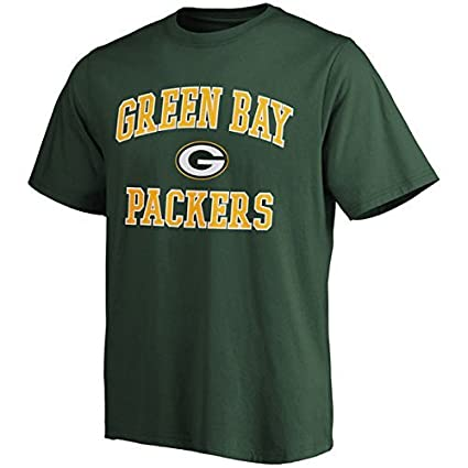 wholesale dealer 6253d 3d0ef Amazon.com : Majestic Green Bay Packers Green Heart and Soul ...