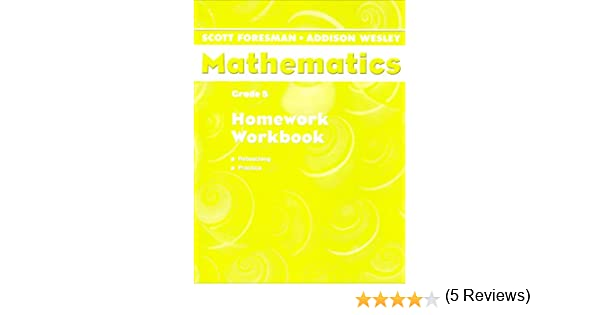 Math Worksheets free printable math worksheets 5th grade : Scott Foresman Mathematics: Grade 5: Homework Workbook; Reteaching ...