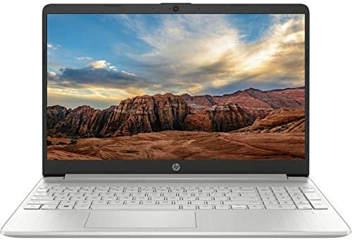 "HP 15.6"" HD Intel tenth Gen i3-1005G1 3.4GHz 8GB RAM 256GB SSD Win 10 Laptop"