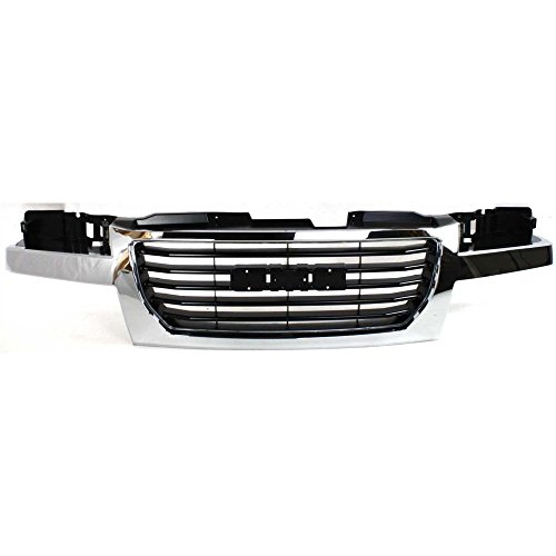 Grille for GMC Canyon 04-12 Chrome Shell/Black Insert ()