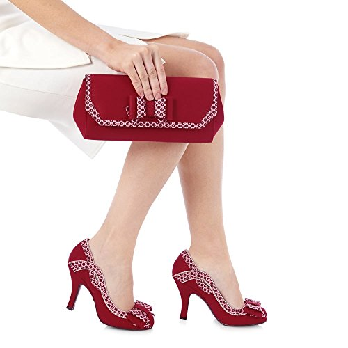 Rouge Ivy Ruby white Shoo Red qAACB