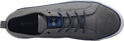 Colombia Heren Goodlife Kant Sneaker Ti Grijs Staal / Royal