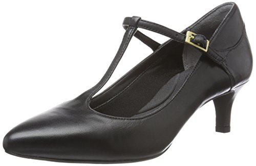 Rockport Kalila T-strap - Tacones Mujer Negro