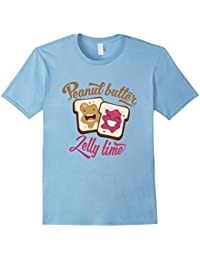 Peanut Butter Jelly Time T-Shirt Funny Food PB&J Shirt