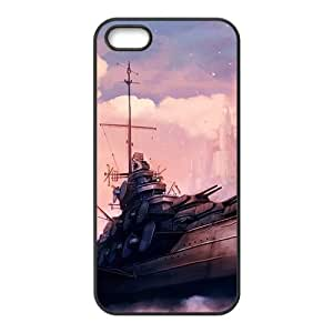 Dreamy castle and vessel Phone Case for iPhone 5S(TPU)