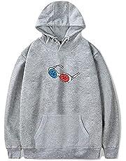 ZIBADTAL Goggles Pullover Hoodie Georgenotfound Cool Printed Sweatshirt voor vrouwen en mannen Tops
