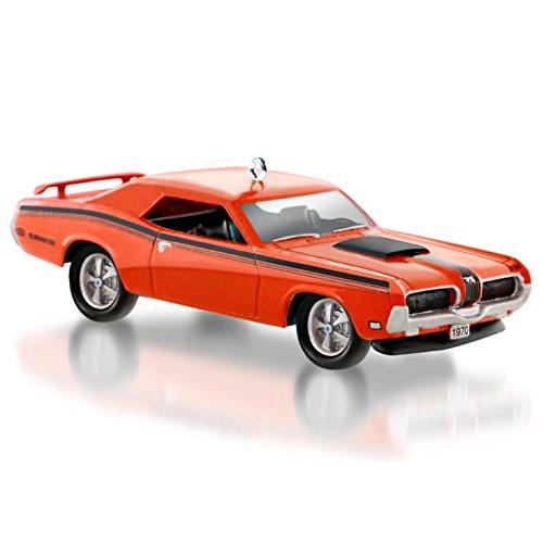 Hallmark QX9027 Ford 1970 Mercury Cougar Eliminator Car Ornament