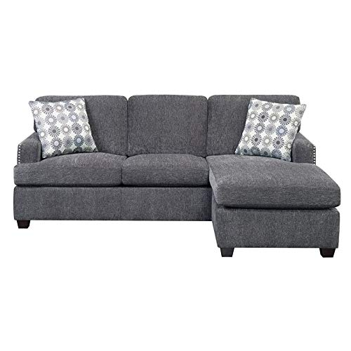 Pemberly Row Lola Reversible Sleeper Sectional