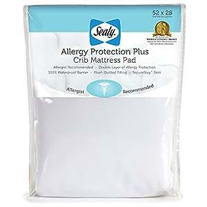 Amazon Sealy Allergy Protection Plus Crib Mattress