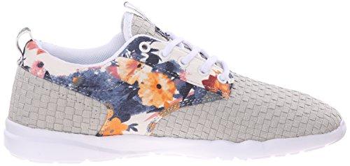 DVS Shoes Premier 2.0, Baskets Basses Femme Beige - Beige (Bronzage / Bleu)
