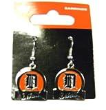Detroit Tigers Dangle Earrings - Bar Style