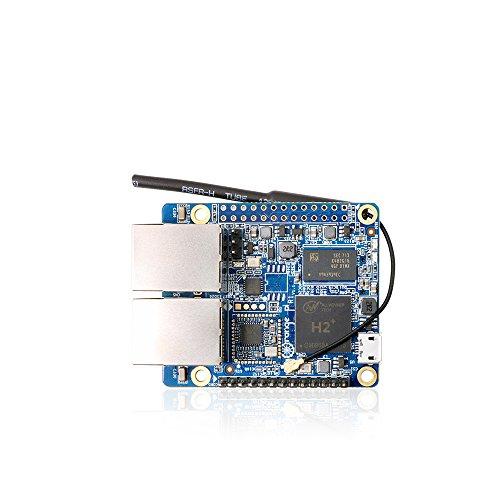 - Taidacent Orange Pi R1 A7 H2+ Quad Core Development Board Dual Network Port Programming Microcontroller