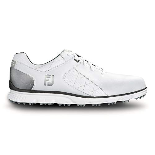 FootJoy Men's Pro/SL-Previous Season Style Golf Shoes White 10 M Silver, US